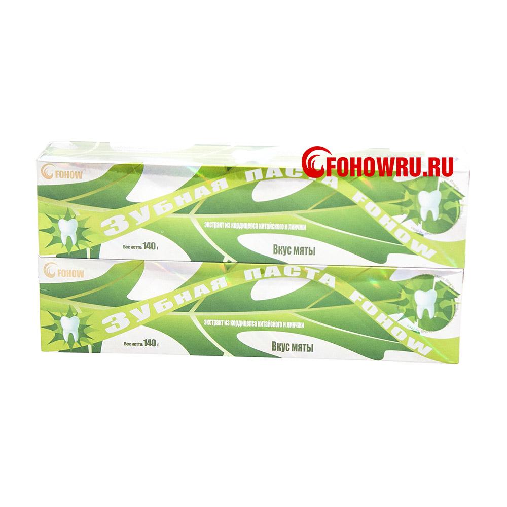 Зубная паста с кордицепсом и линчжи